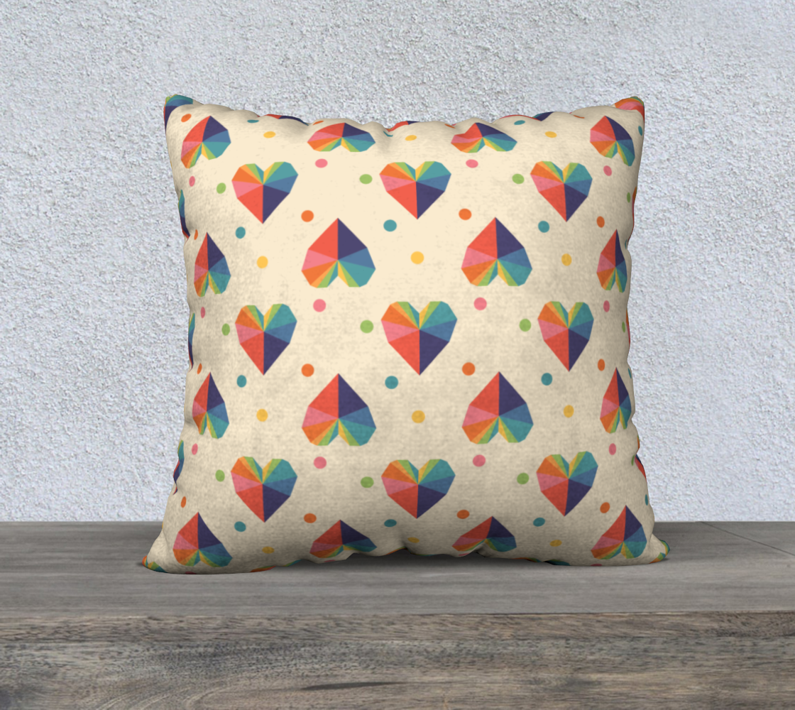 Gem of a Heart Throw Pillow Cover preview
