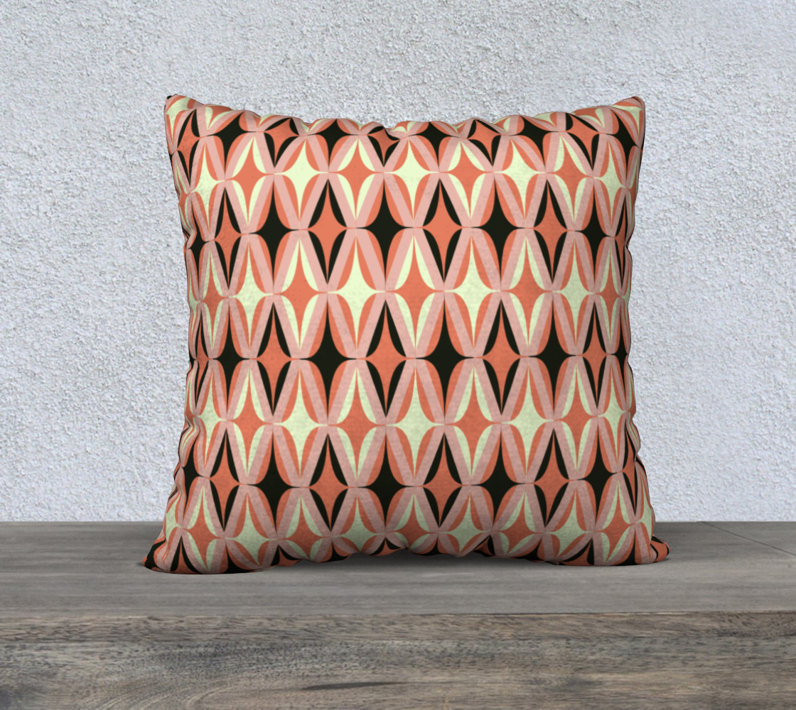 """Midcentury Modern in Pink - 22"""" preview"""