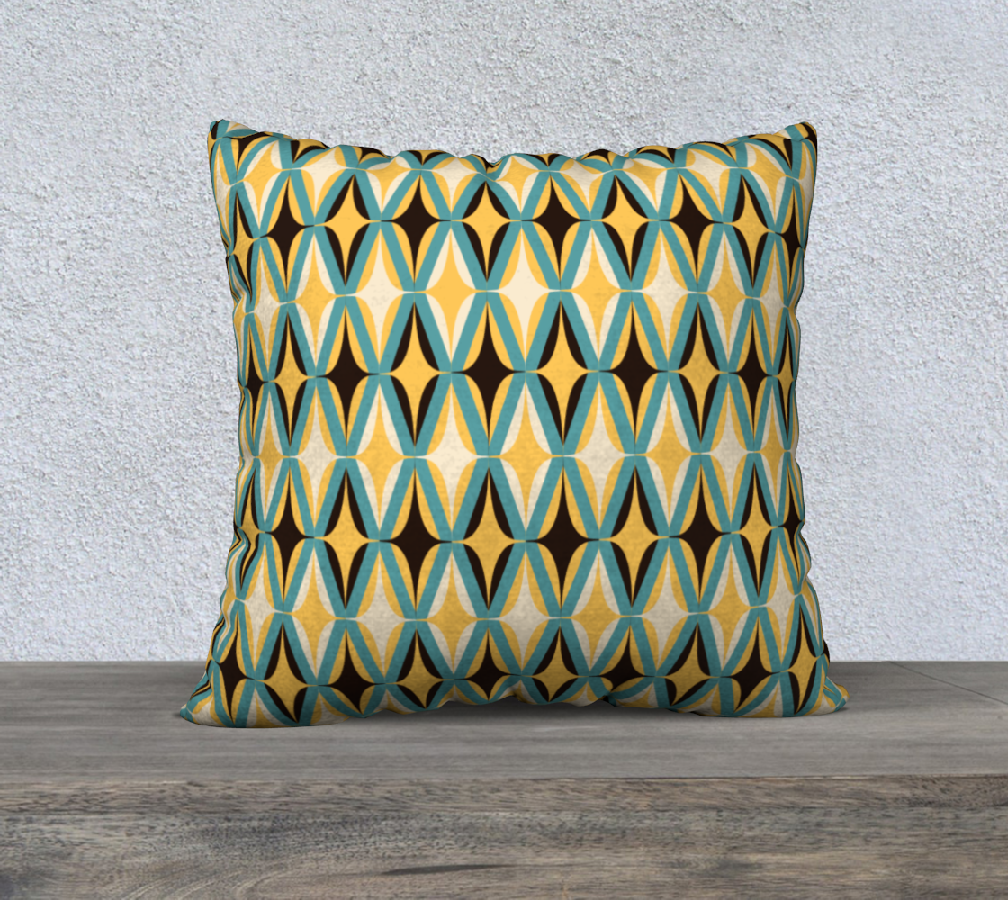 """Midcentury Modern in Yellow 22"""" preview"""