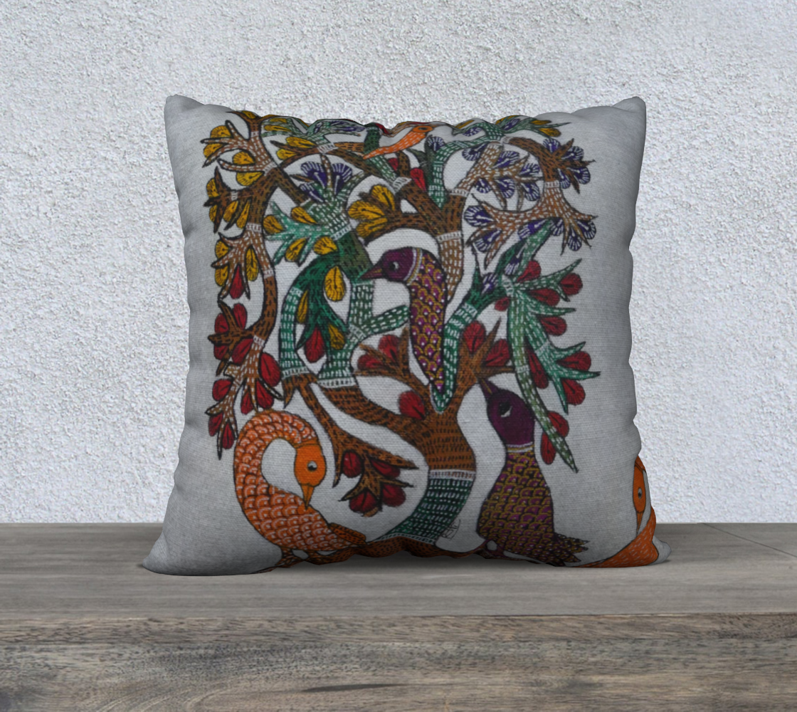 Tree of life series 2 Cushion preview