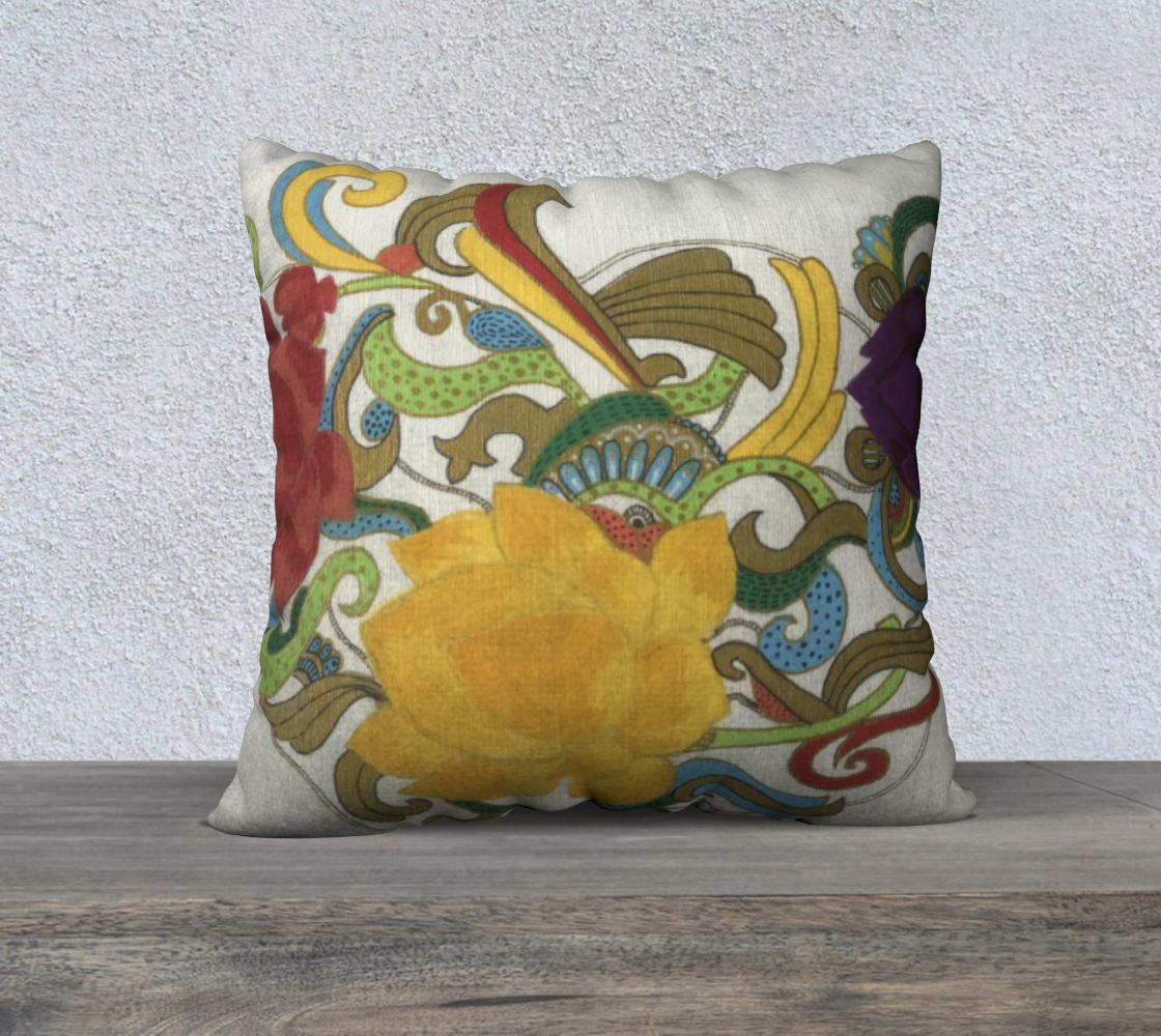 Flower cushion  preview #2