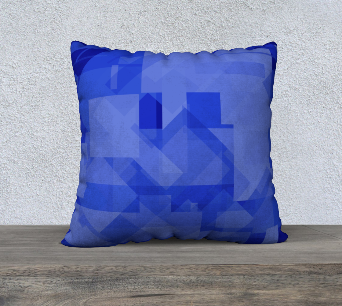 Blue is Better 22x22 Pillow Case preview