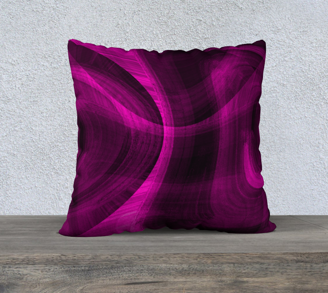 Pinkish Black Hole 22x22 Pillow Case preview
