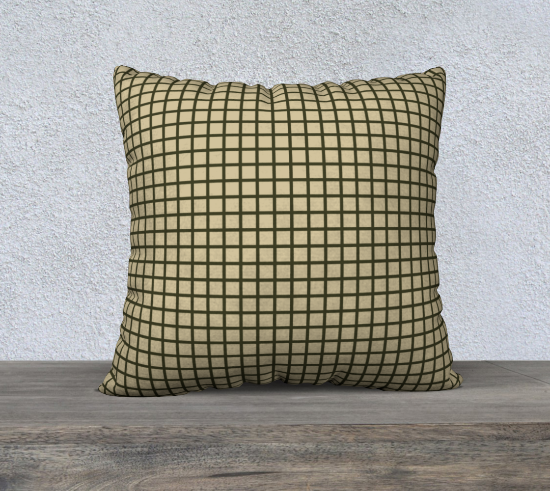 Olive Green Gridlines preview