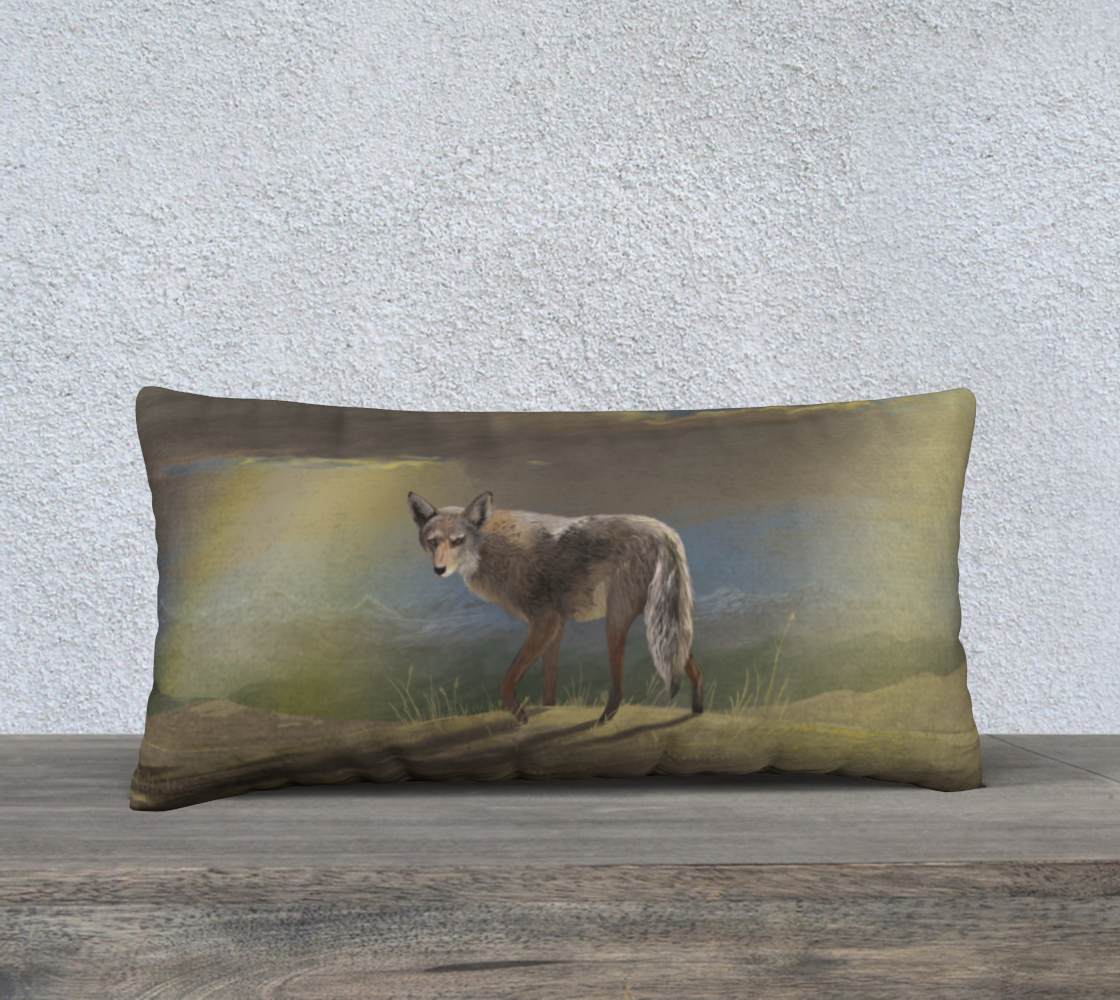 Prairie Wilds Coyote Pillow Case preview
