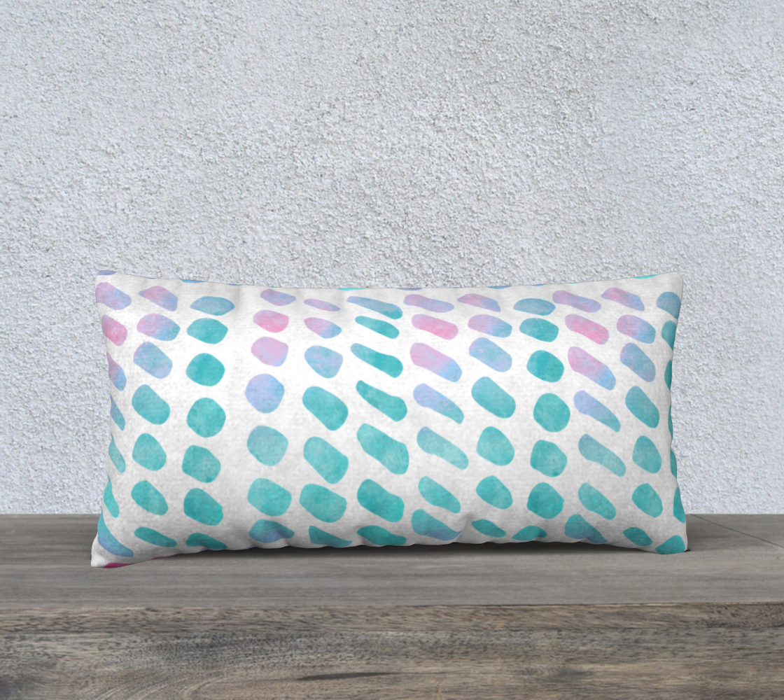 Pink and Blue Cotton Candy Pillow Case 24 preview #1