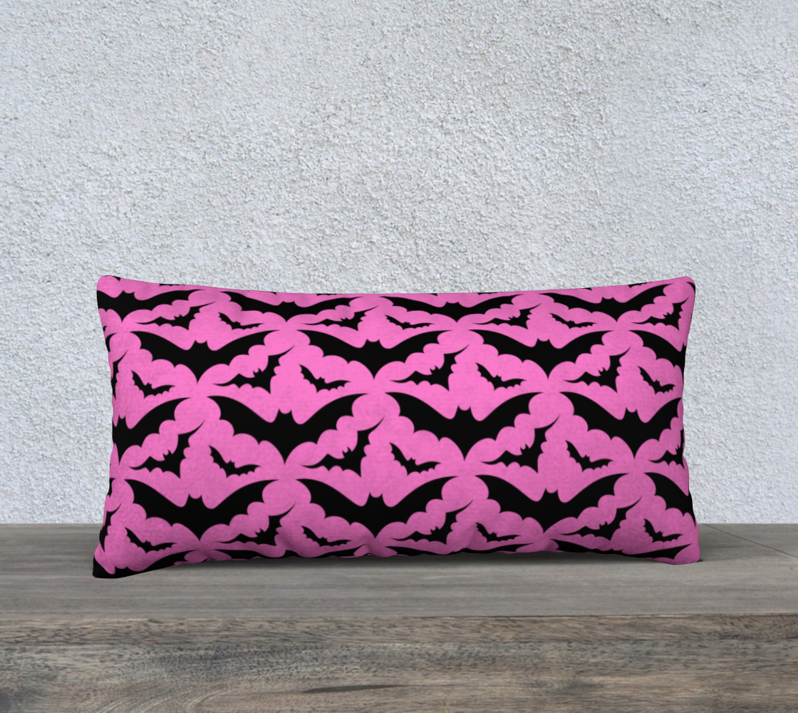 Pink Bats Pillow Case preview