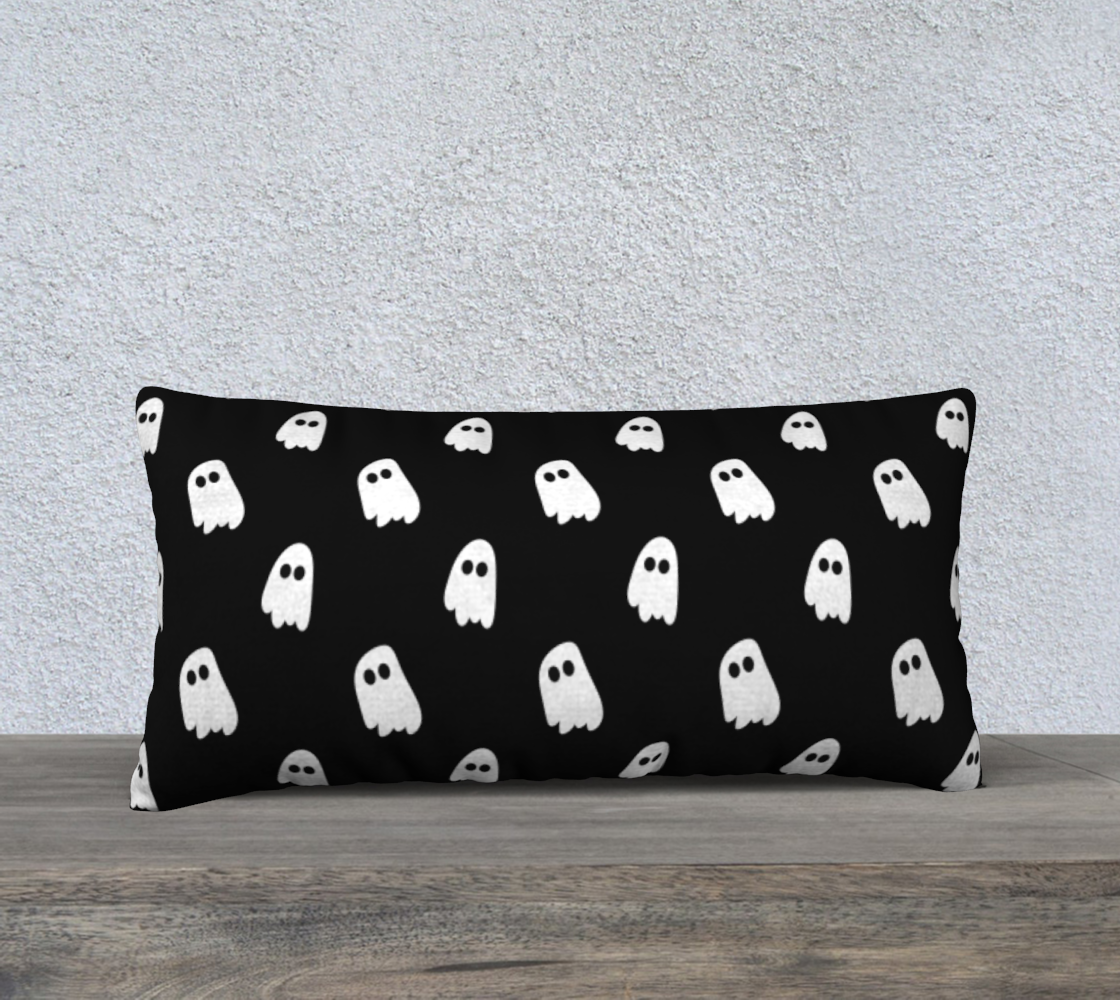 Black Ghosts Pillow Case preview