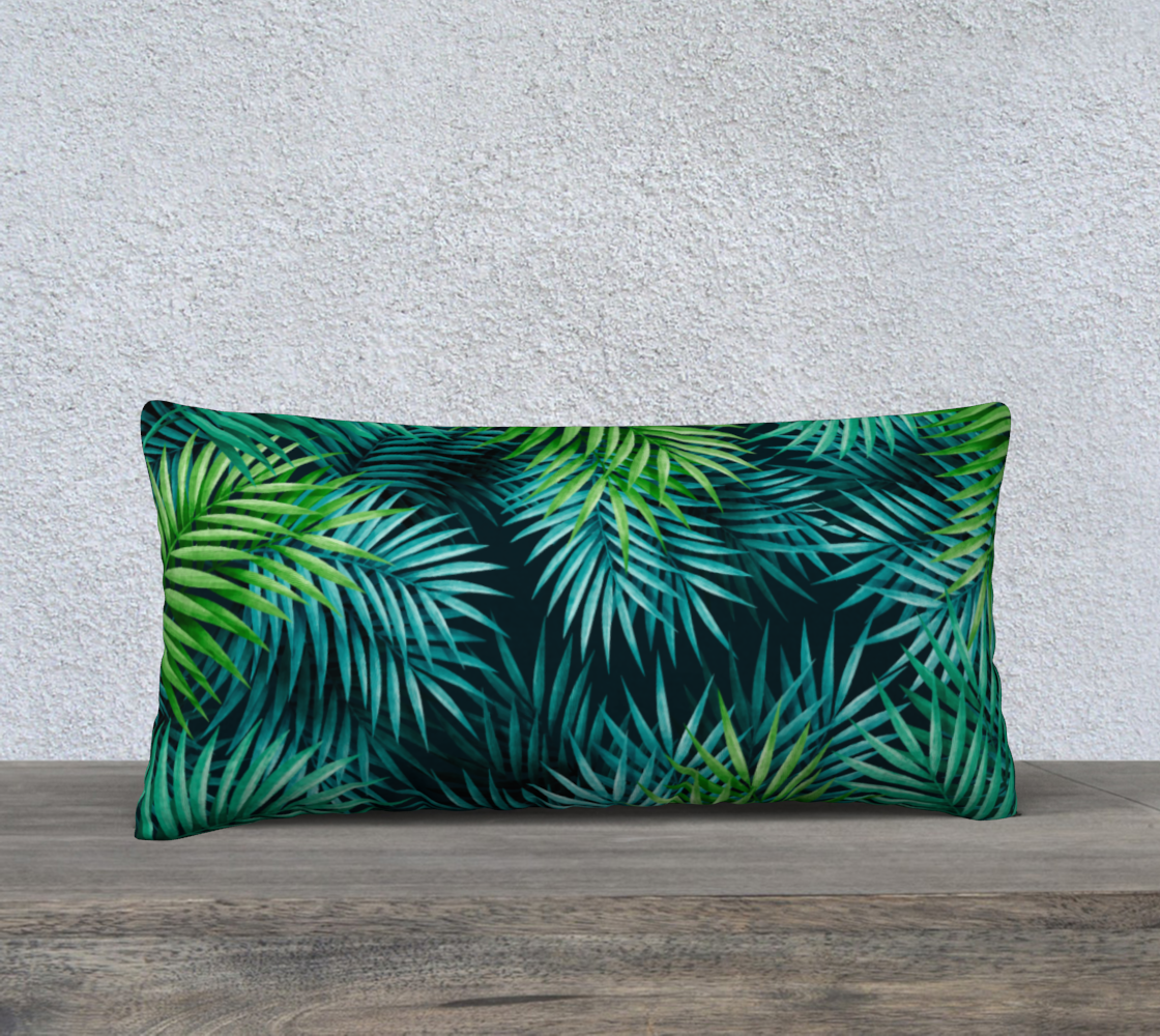 Exotic Green Palm Leaves preview