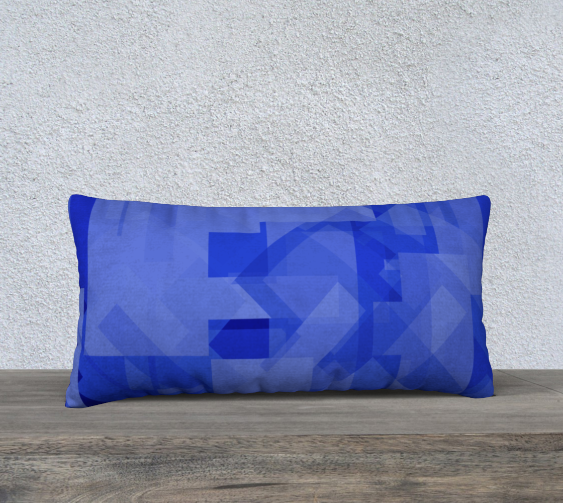 Blue is Better 24x12 Pillow Case preview #2