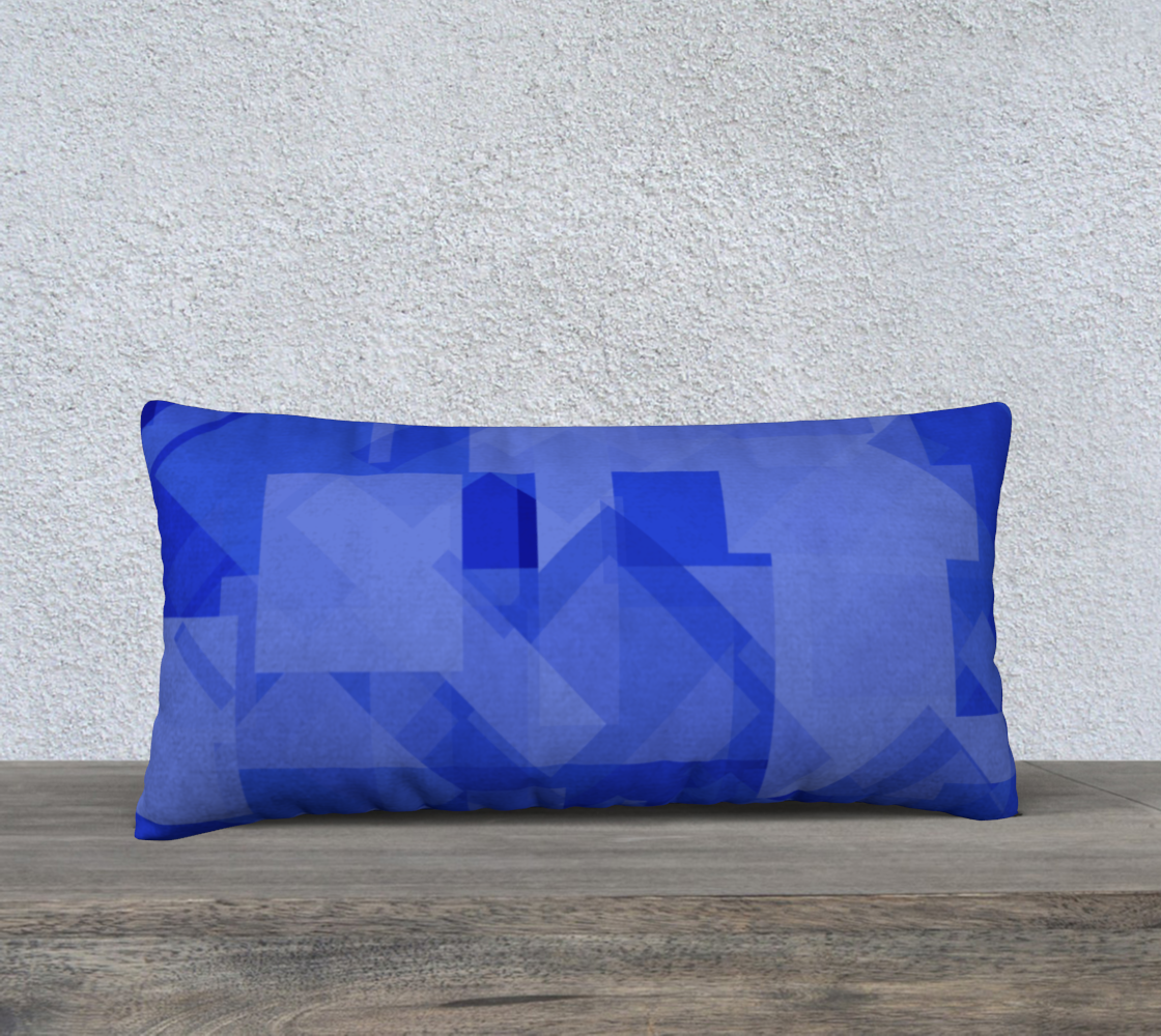 Blue is Better 24x12 Pillow Case preview