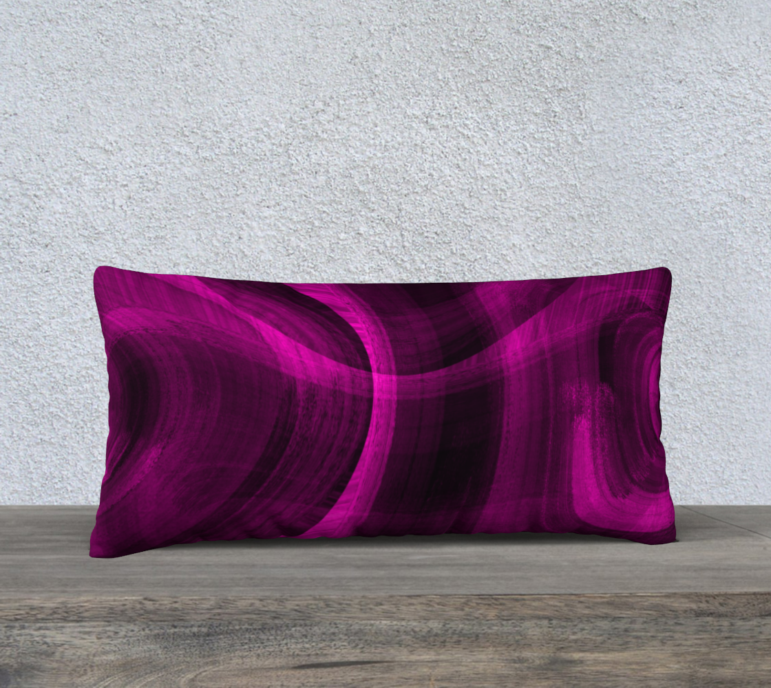 Pinkish Black Hole 24x12 Pillow Case preview