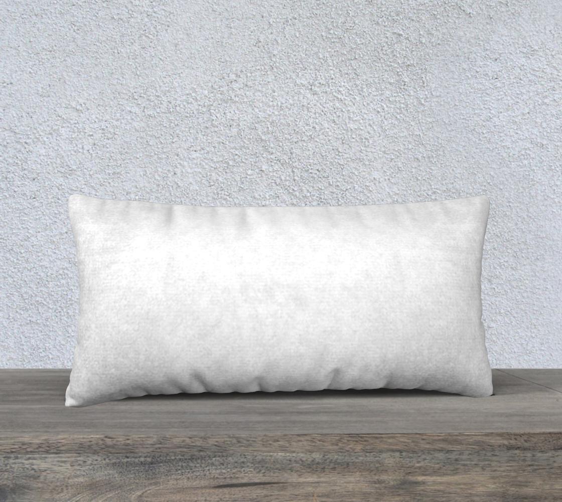 Labrador Retriever chocolate cartoon 24 x 12 pillow case preview #2