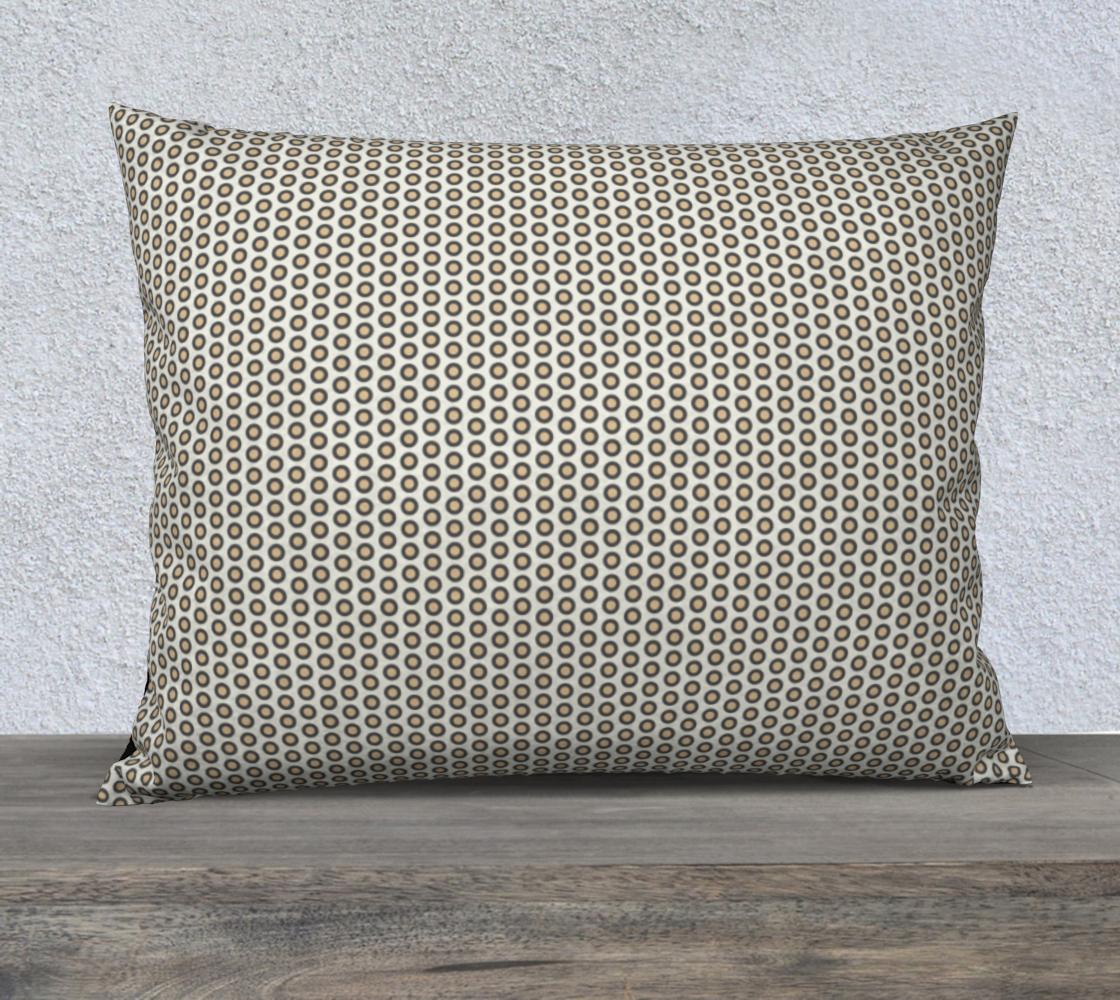 Gray Circle Pillow Case 26x20 preview