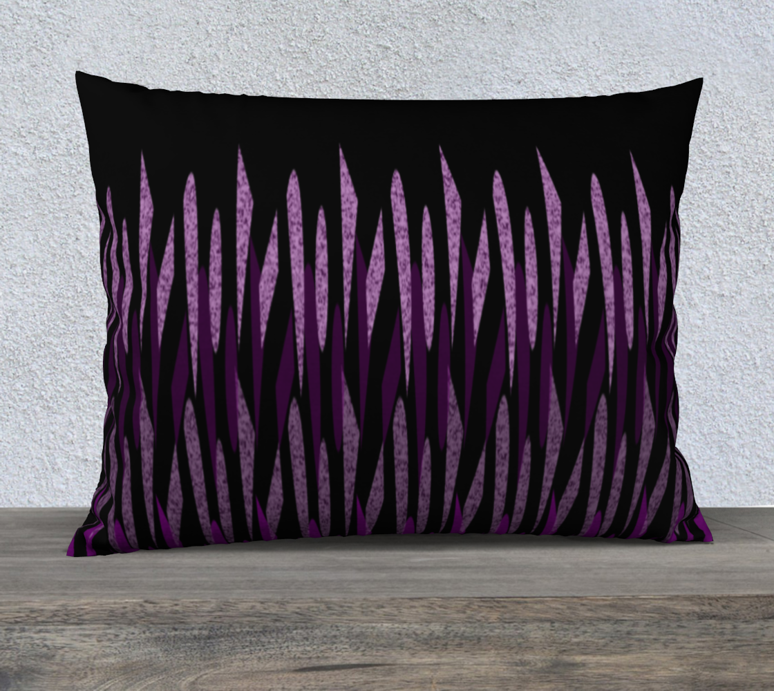 Purple Ice Abstract Pillow Case 26 preview
