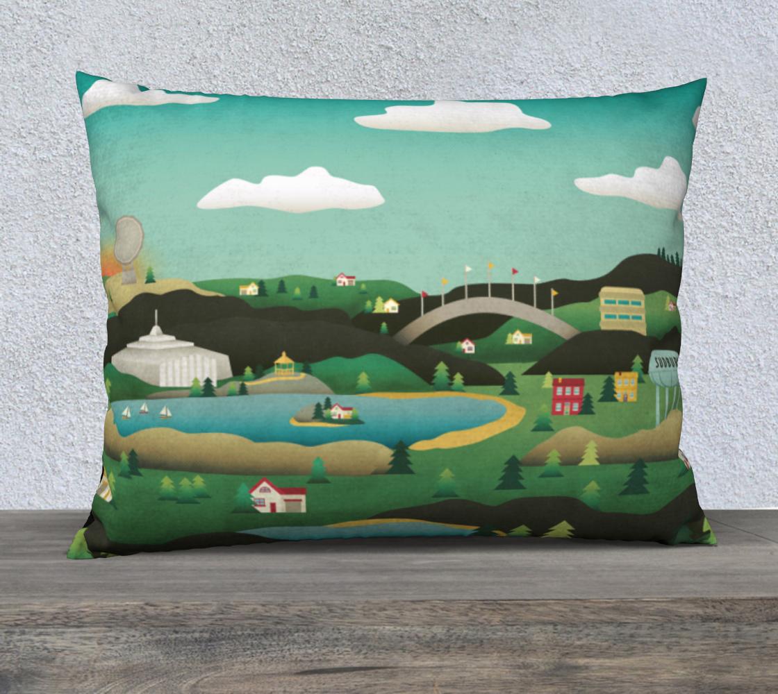 Aperçu de Hometown: Sudbury Pillow Case