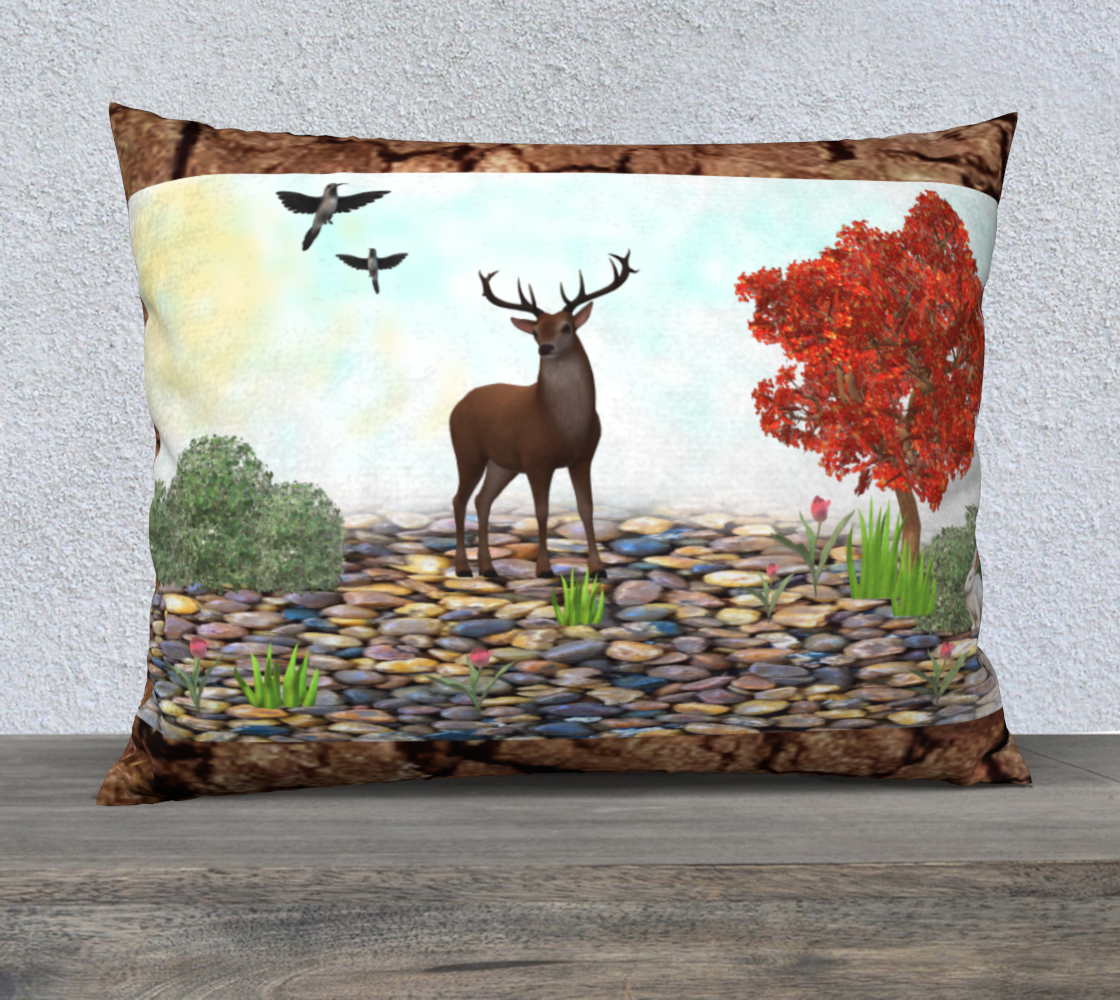 pillow of deer  preview