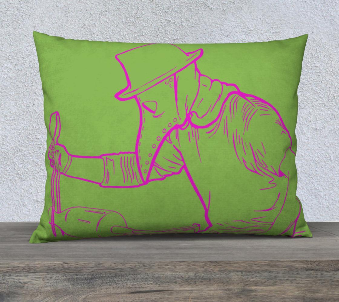 Plague Gaffer Pink - Green w/ Green  aperçu