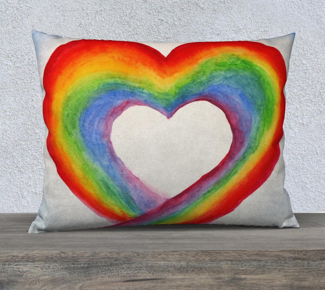 Aperçu de Coeur Arc en ciel | Rainbow heart