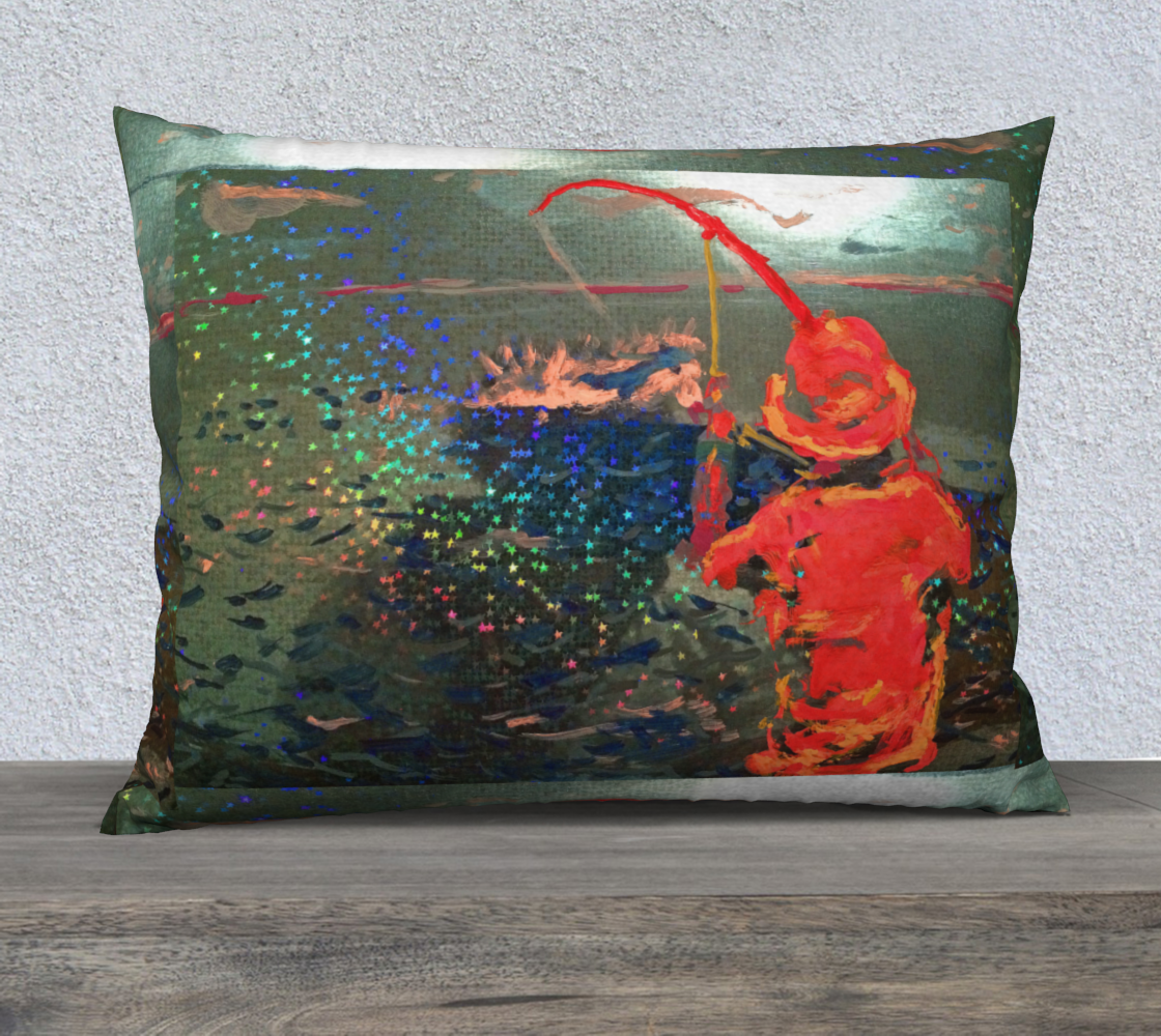 """Star-Spangled Catch 20"""" x 20"""" Pillow Case preview"""