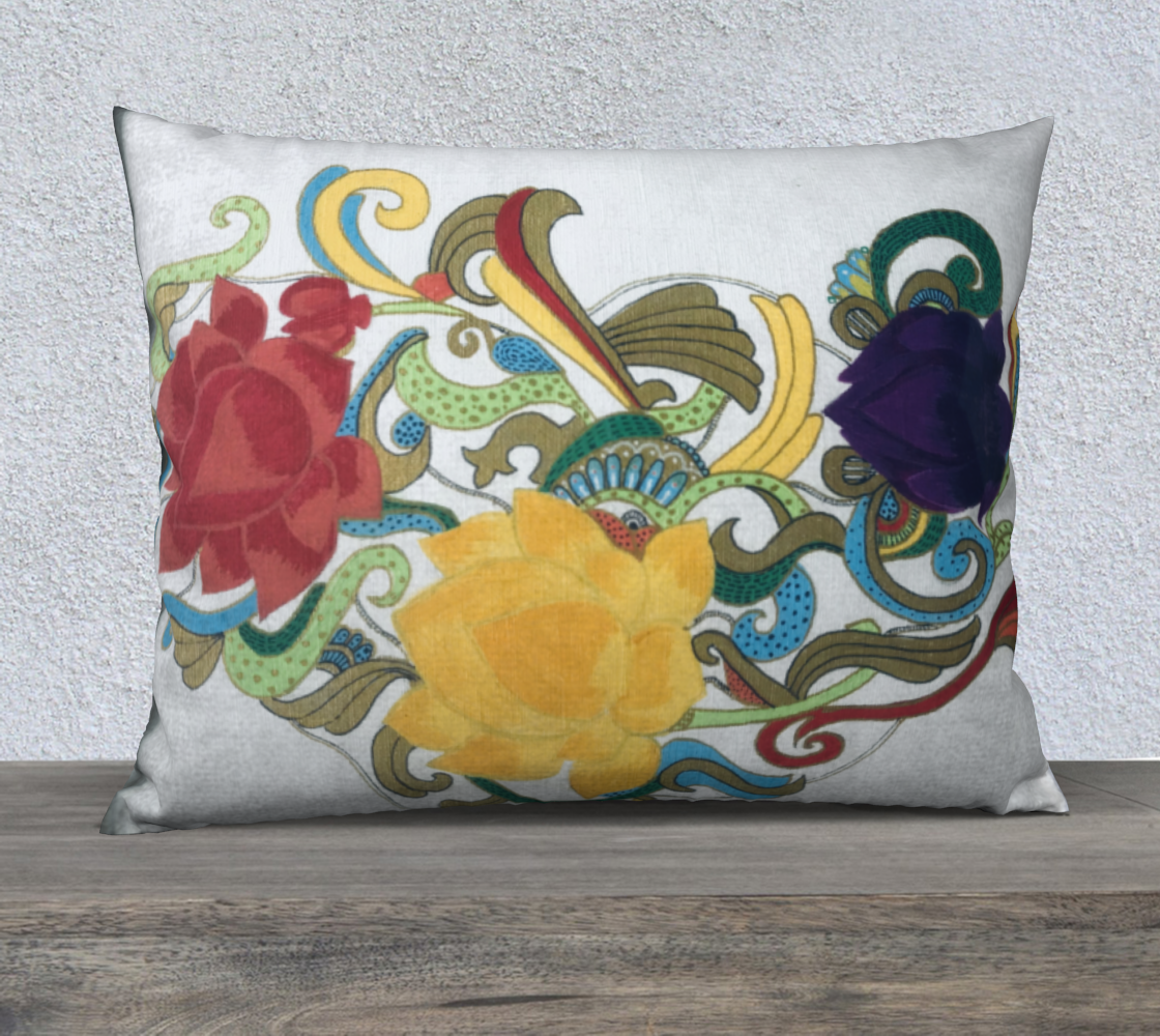 Flowers Cushion preview #2