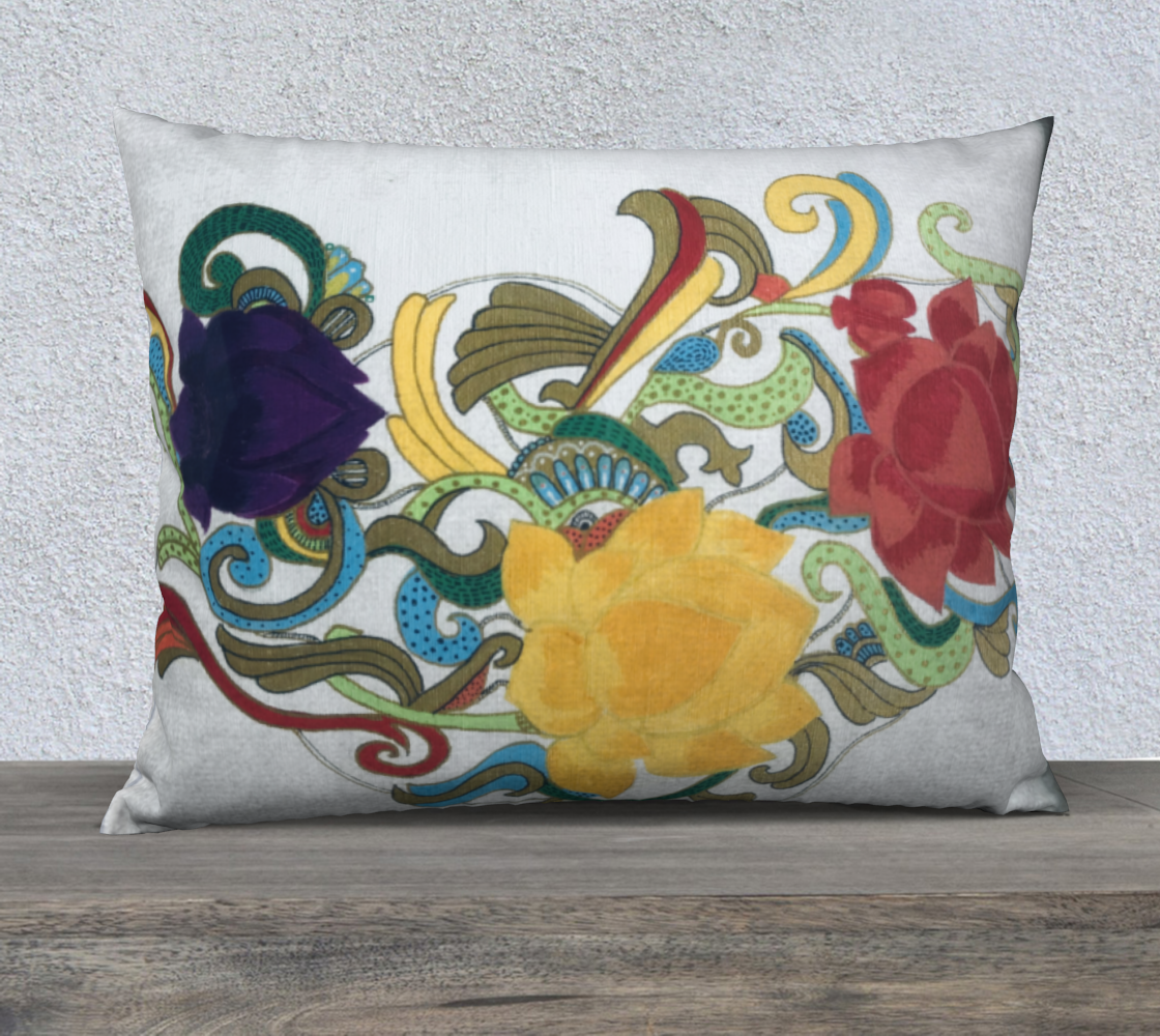 Flowers Cushion preview