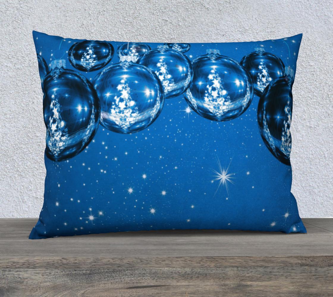 Aperçu de Blue Christmas Ornaments