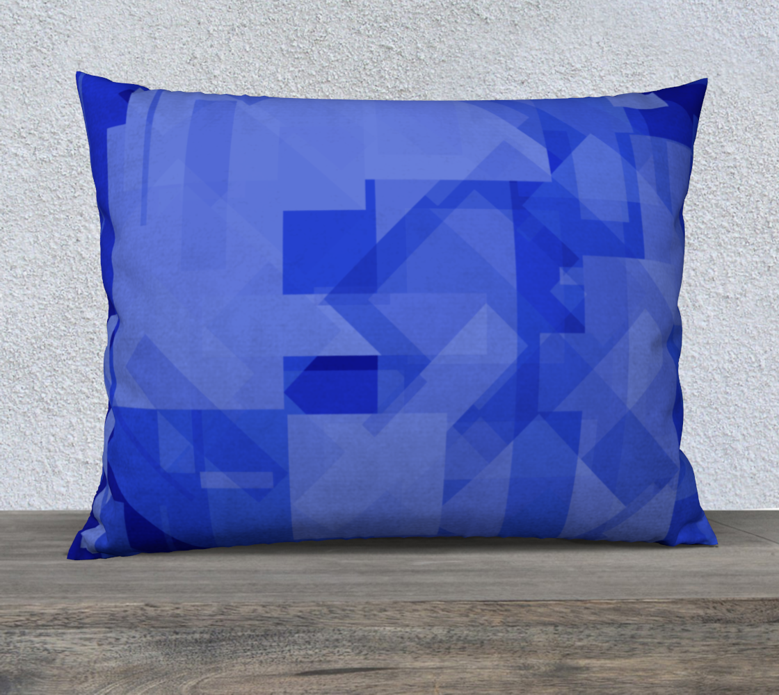 Blue is Better 26x20 Pillow Case preview #2