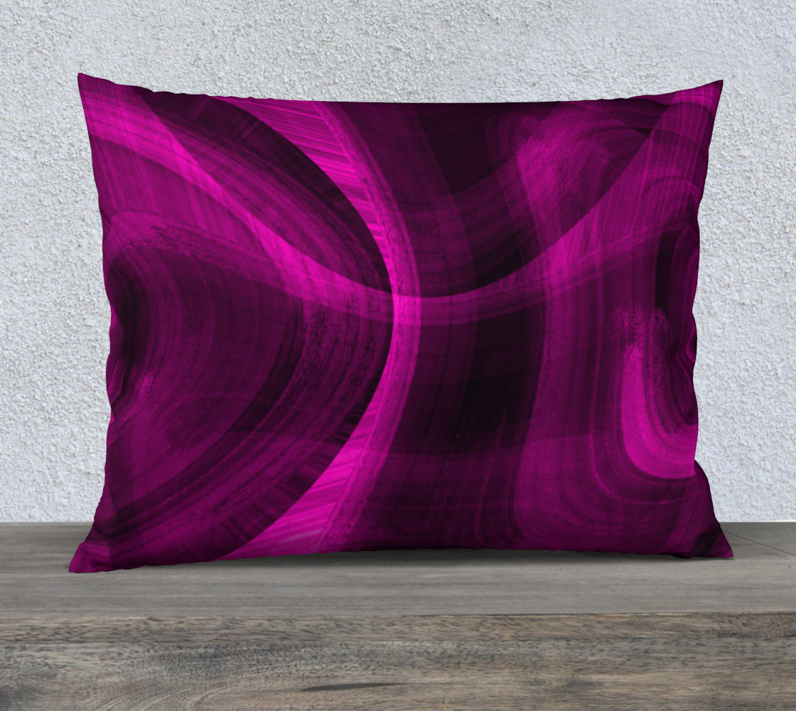 Pinkish Black Hole 26x20 Pillow Case preview