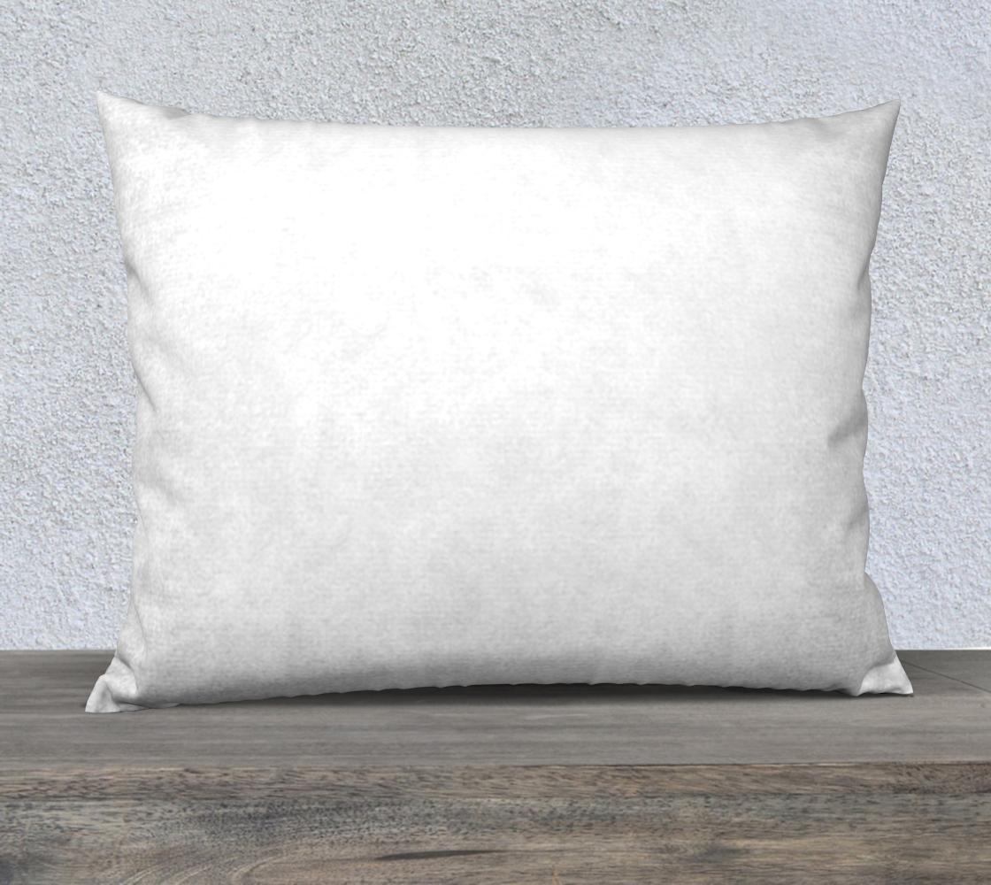 Labrador Retriever chocolate cartoon 26 x 20 pillow case preview #2