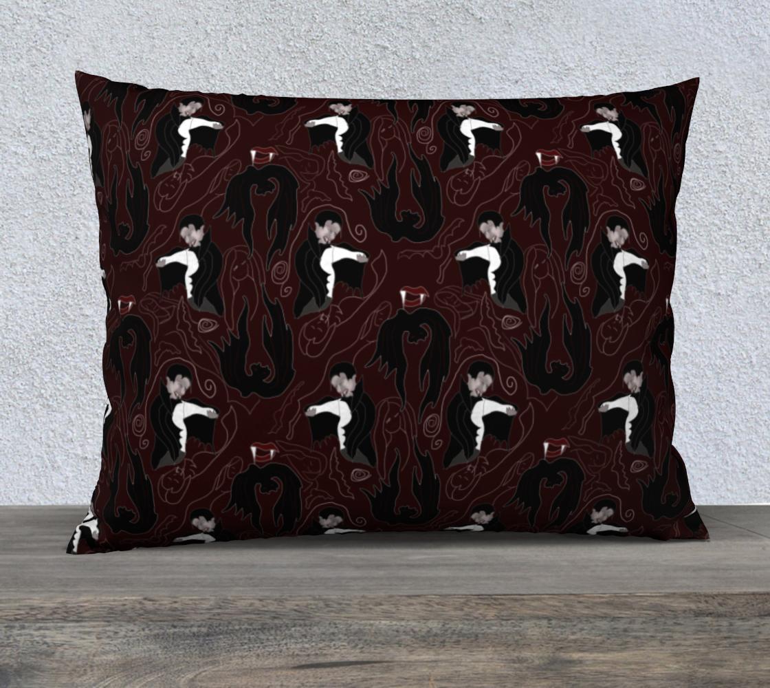 Aperçu de Vampire Pattern Pillow Case