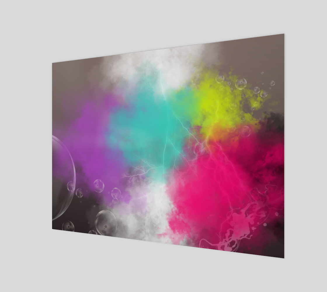 Abstract Clouds Wall Art preview #1