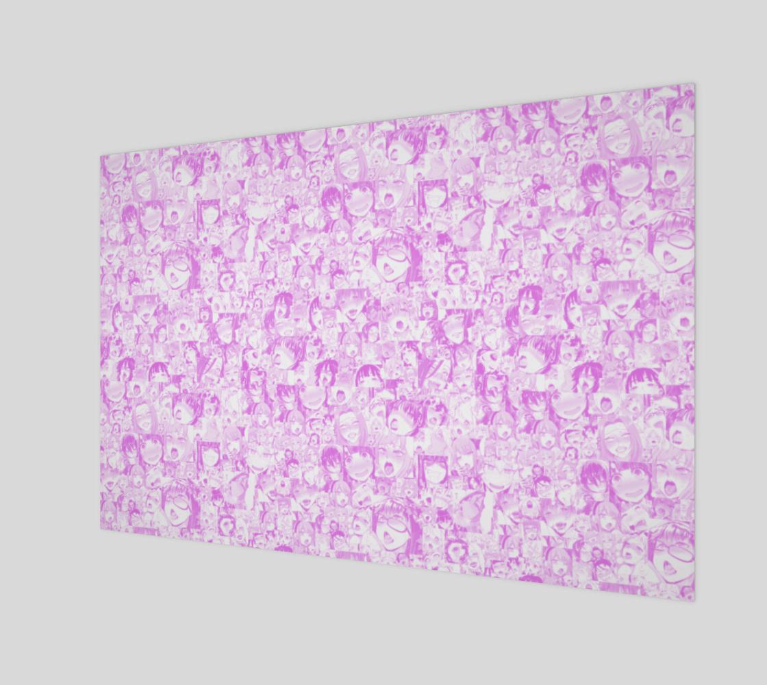 Aperçu de Pink Pastel Ahegao Collage Wide Version