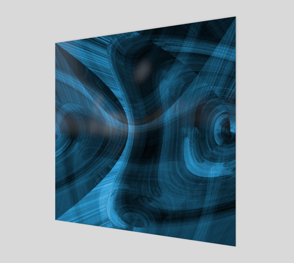Bluish Black Hole Acrylic Print preview #1