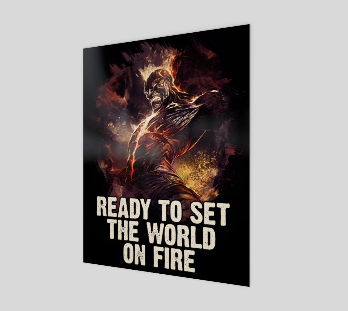 Brand - Ready to set the world on fire preview
