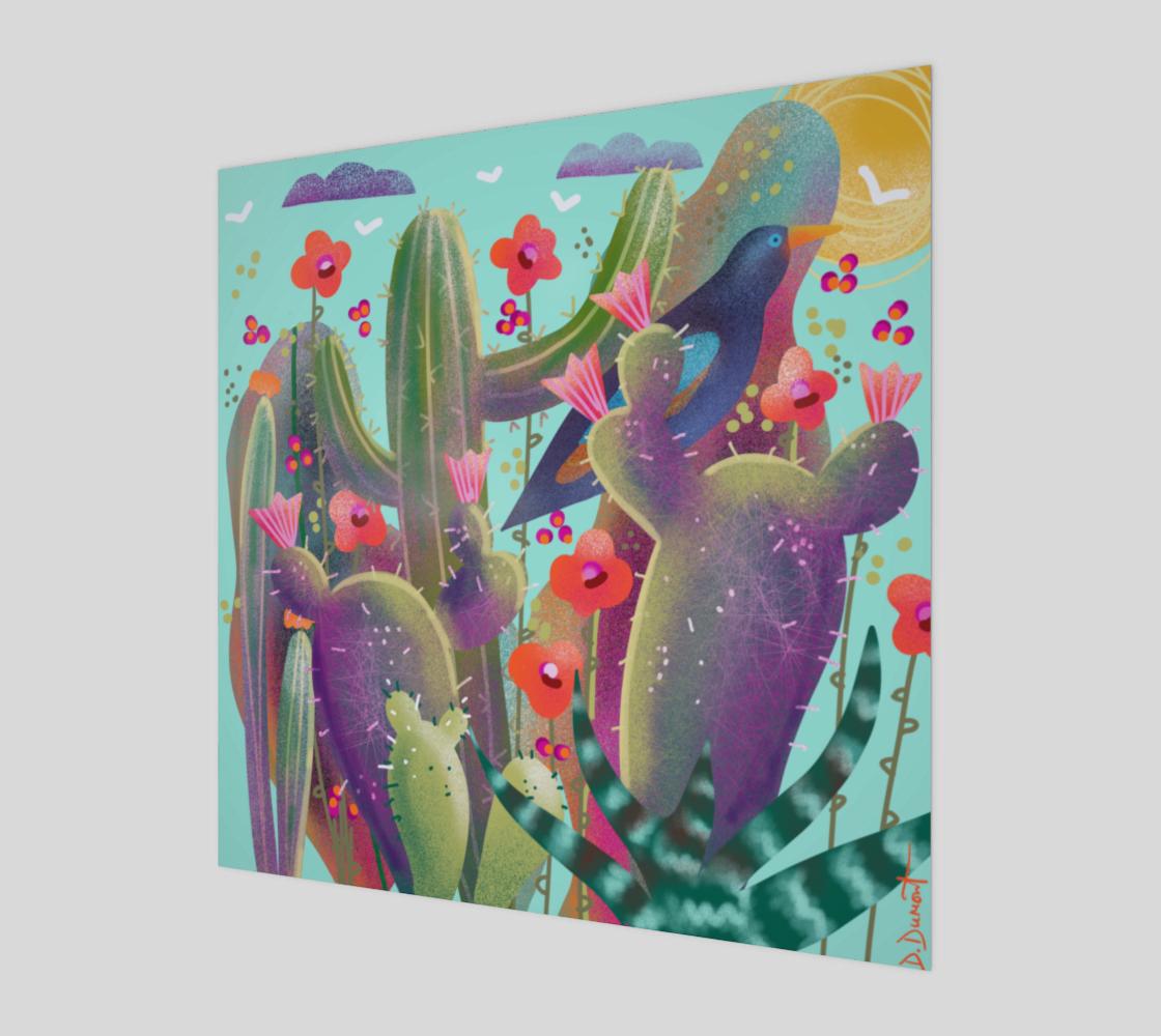 Affiche Cactus en folie preview