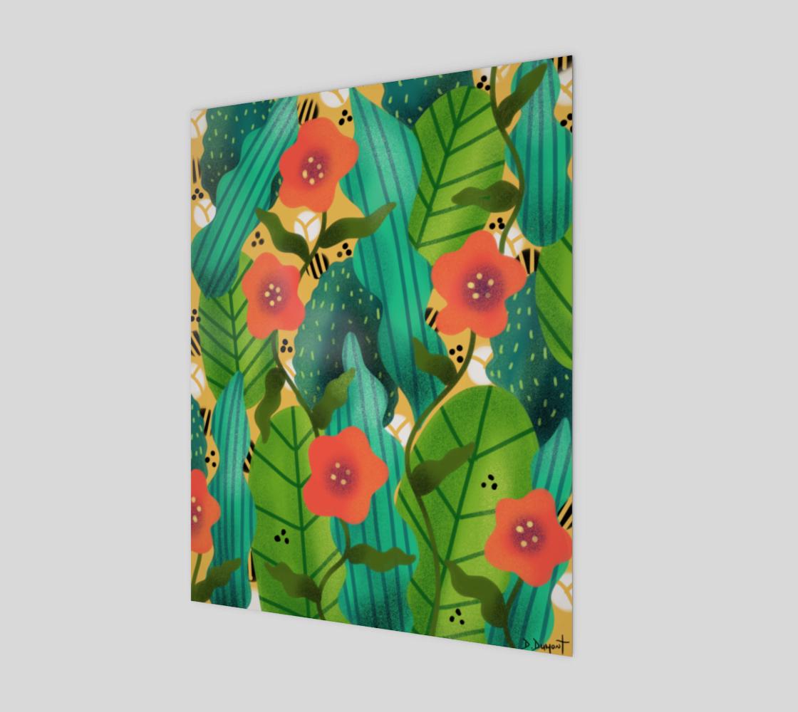 Affiche Fleurs d'été  preview