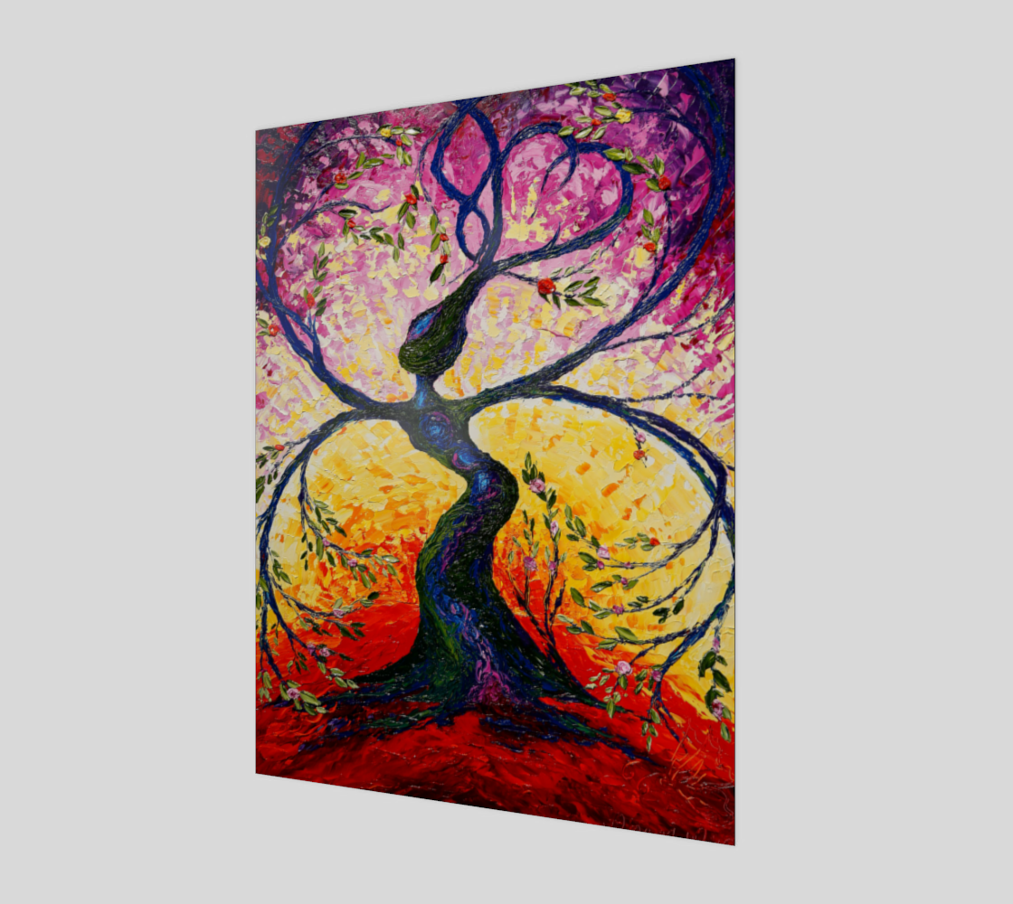 The giving tree Acrylic Print  preview