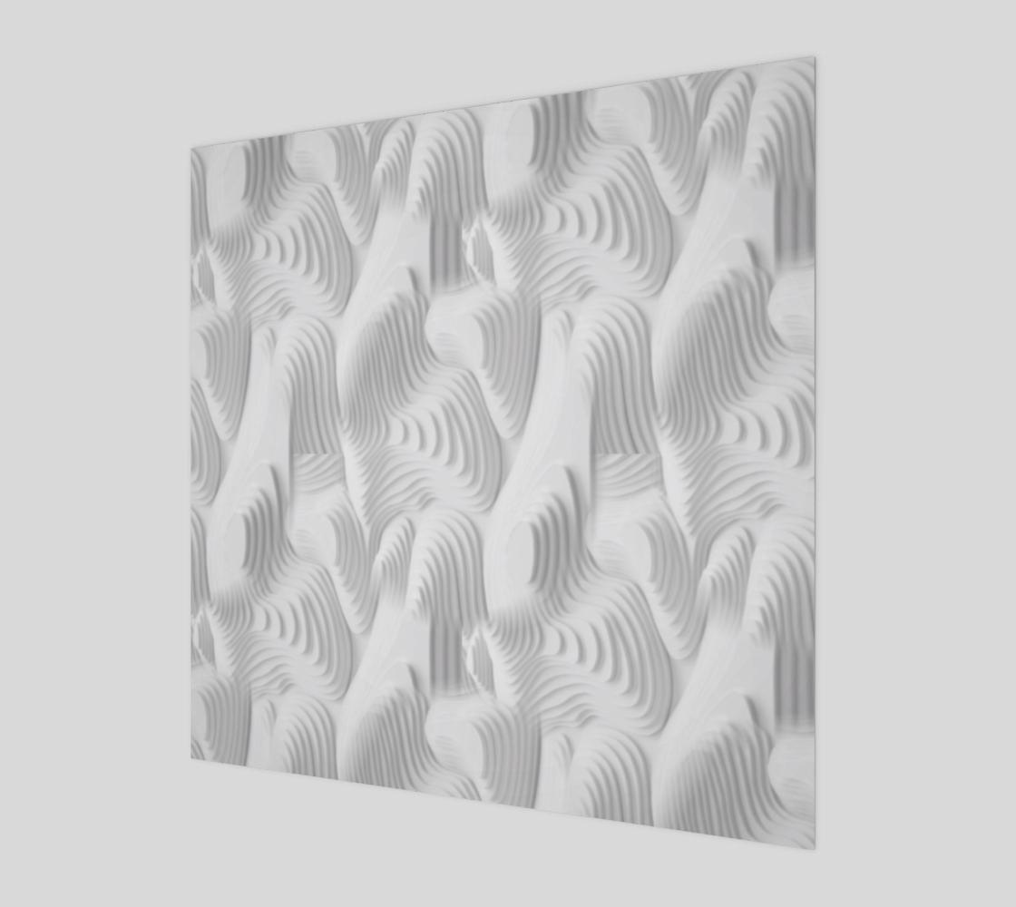 White Modern art preview