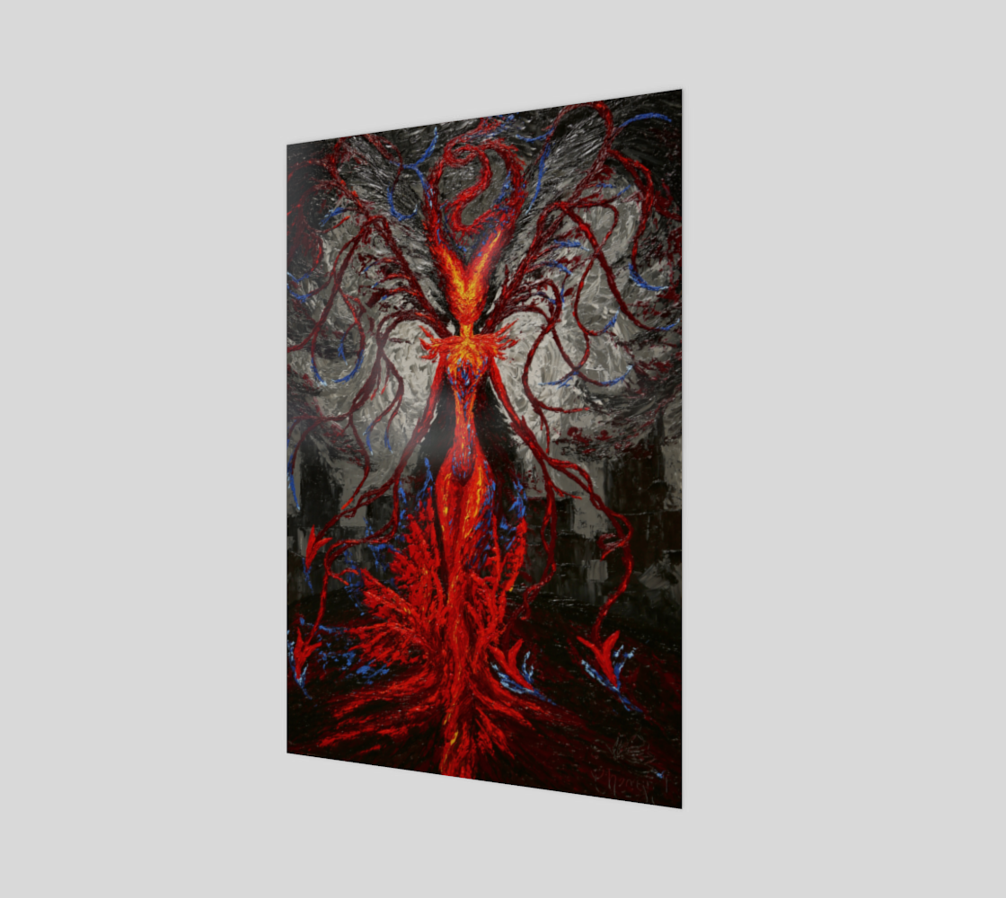 The Morrigan Acrylic Print preview