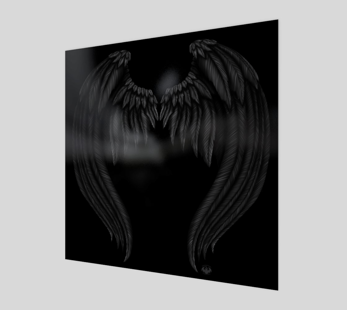 Fallen Angel Wings / Poster Only preview