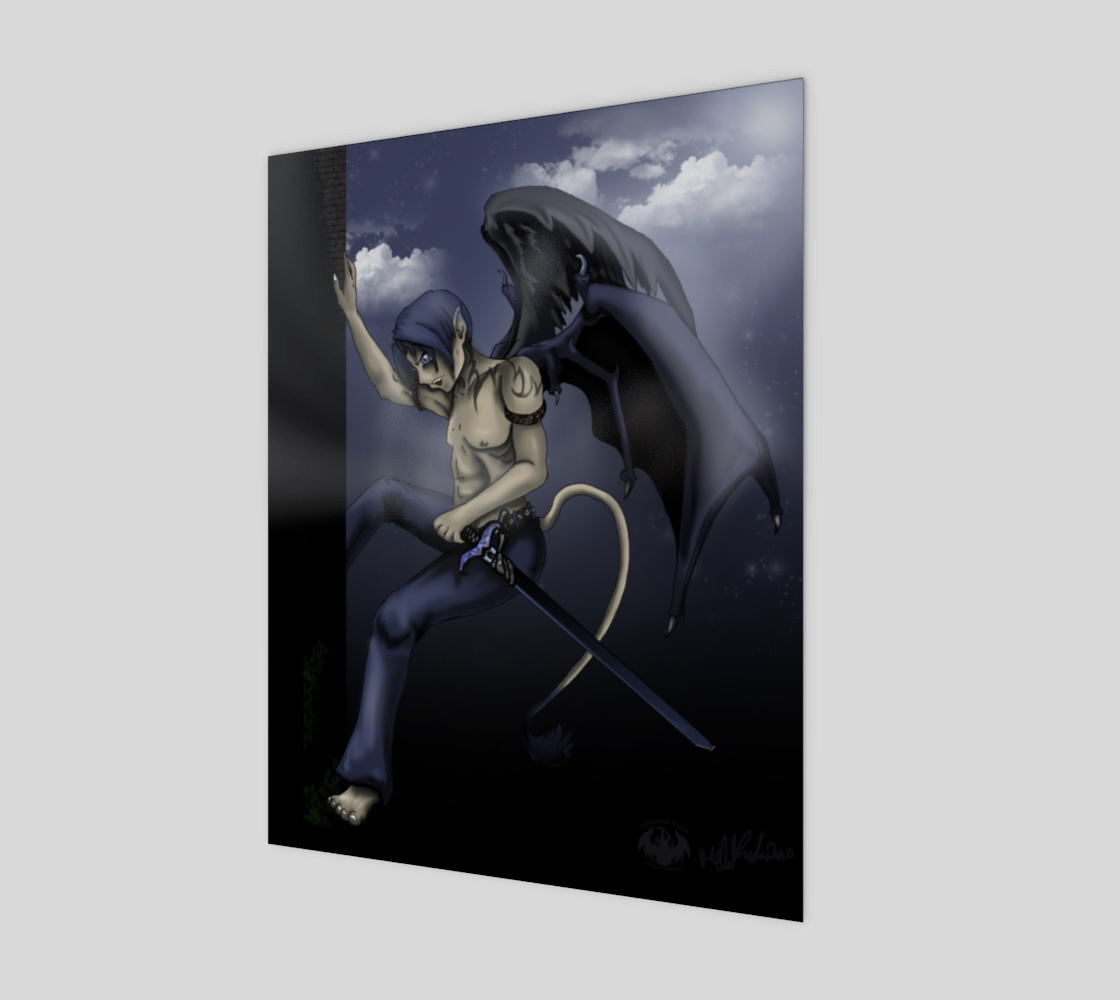Winged Guardian / Poster Only preview