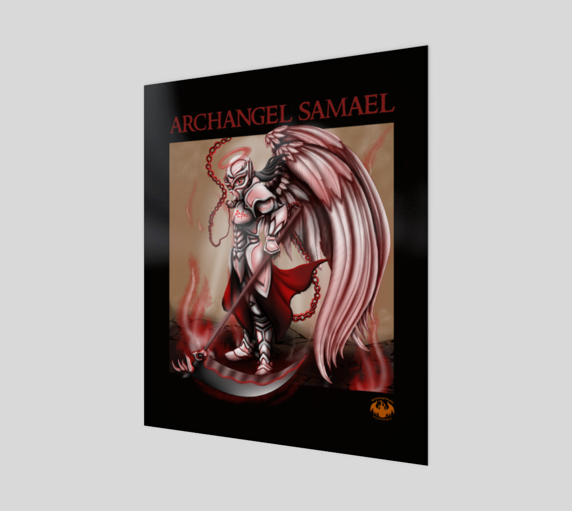 Archangel Samael / Fits Canvas Best preview #1