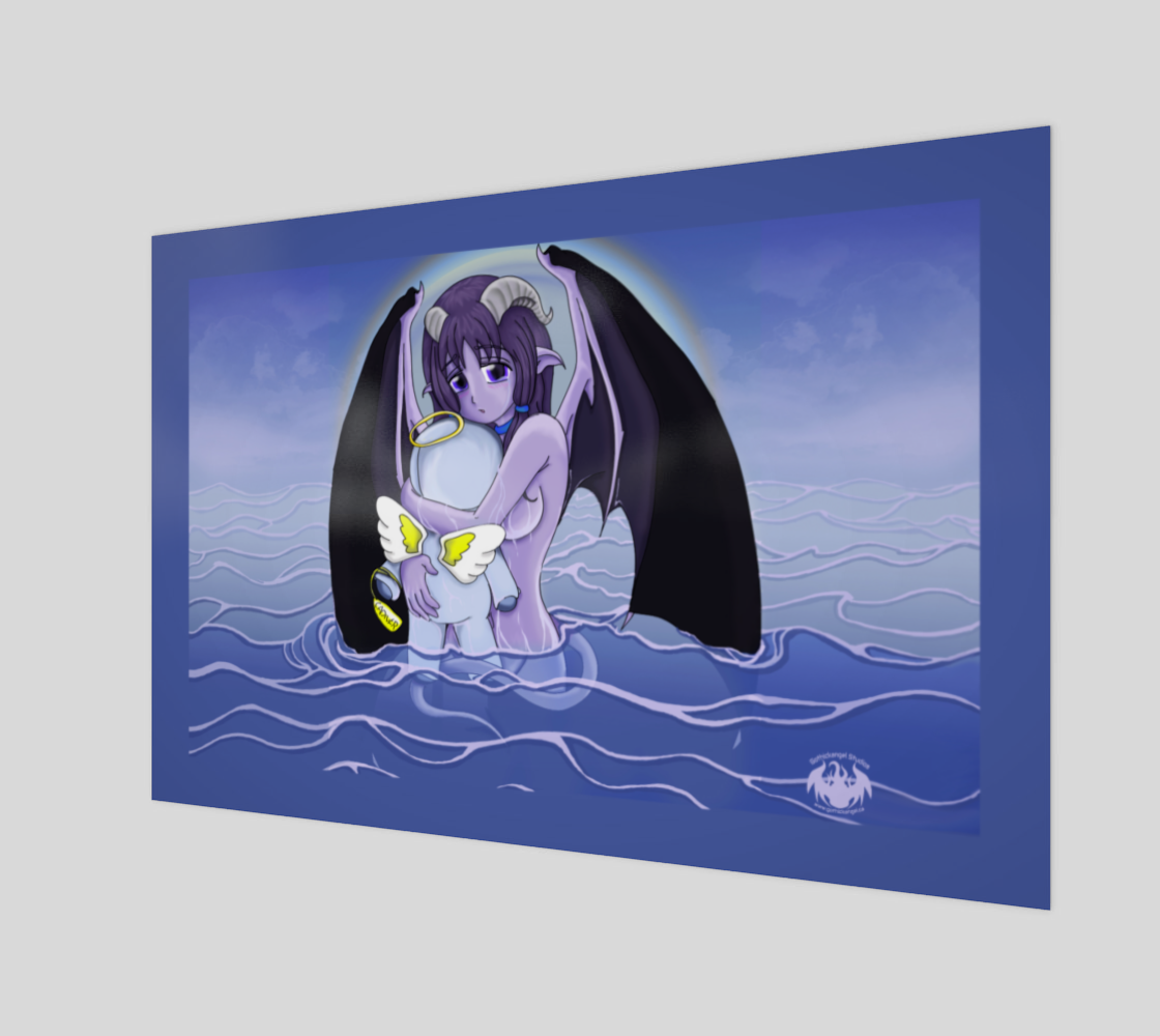 Seryhon in the Lake / Canvas Only preview