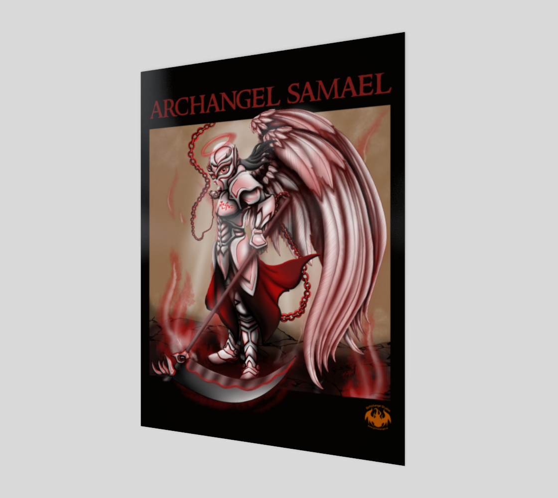 Archangel Samael / Poster Only preview