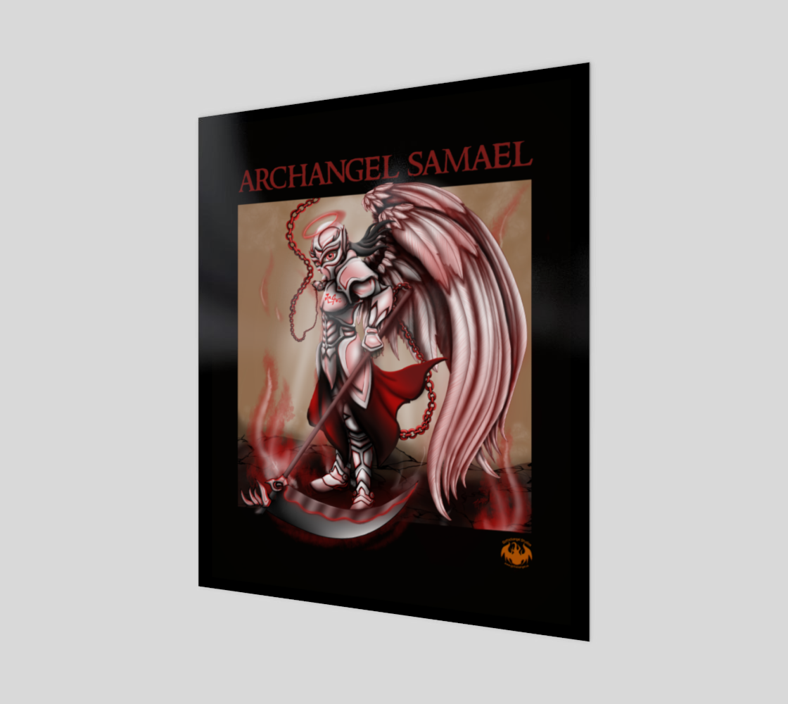 Archangel Samael / Canvas / Print / Poster preview