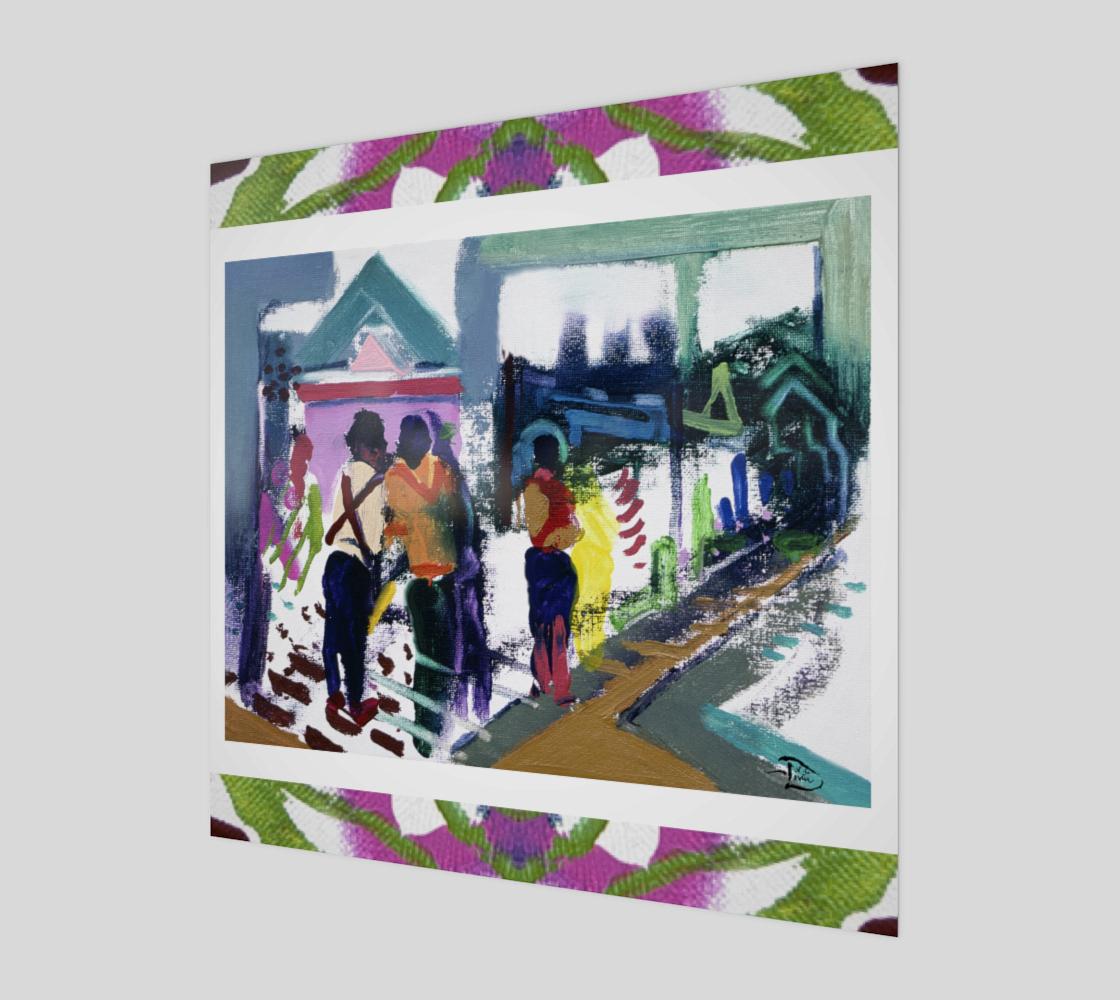 The Shrine Custom Print by Lowell S.V. Devin preview