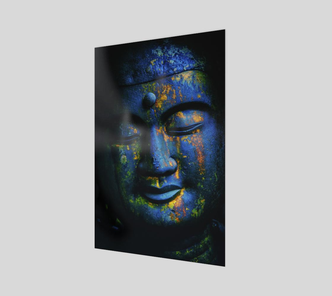 Aperçu de Bouddha bleu  |  Blue Buddha #1