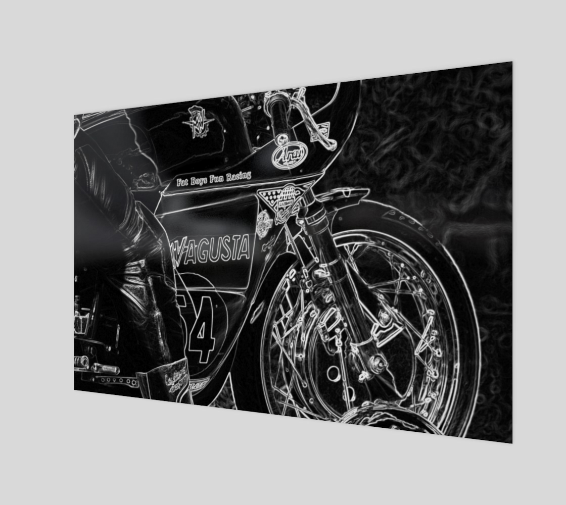 Motorcycle 1 Acrylic Print preview