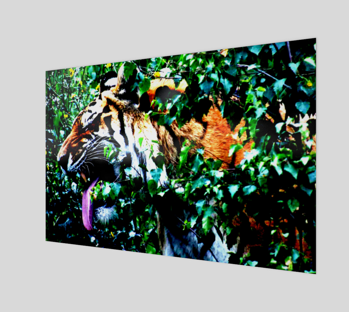 Amur Tiger Art Print preview